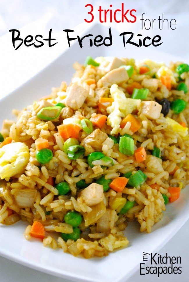 3 tips to making the best fried rice | simplykierste.com