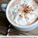 Toasted Coconut Hot Chocolate | simplykierste.com
