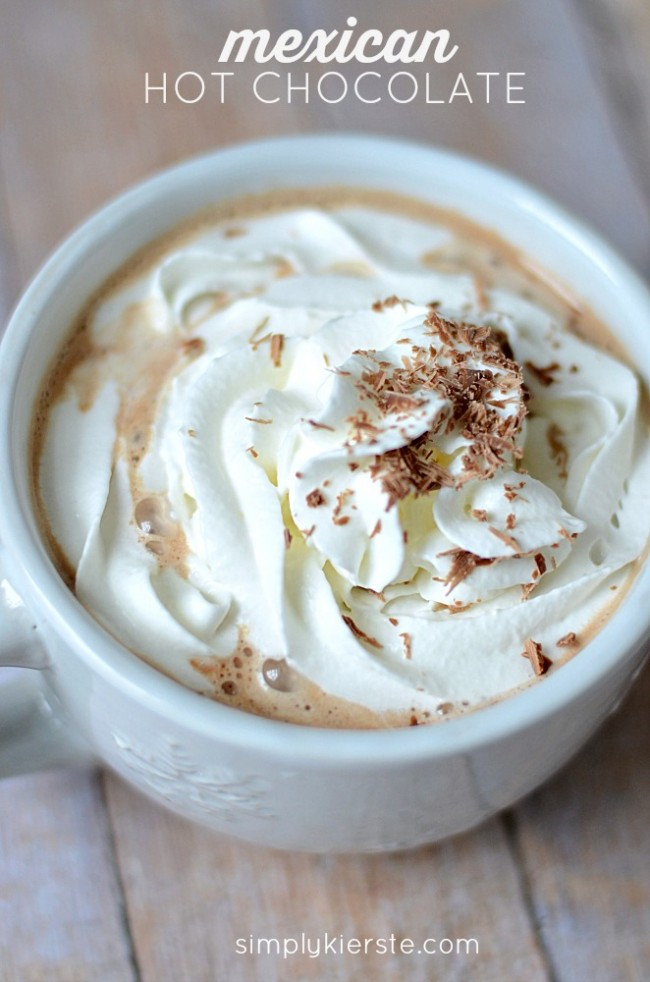 easy homemade mexican hot chocolate | simplykierste.com