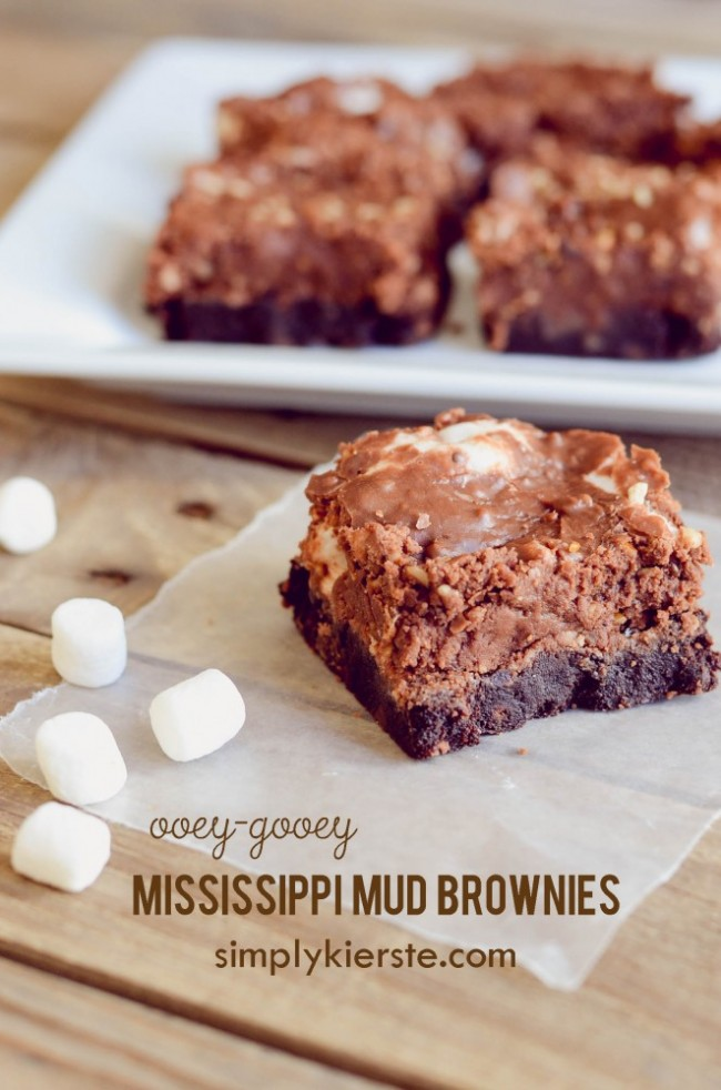 Mississippi Mud Brownies | simplykierste.com