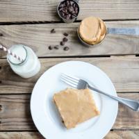 Peanut Butter Chocolate Chip Sheet Cake | oldsaltfarm.com