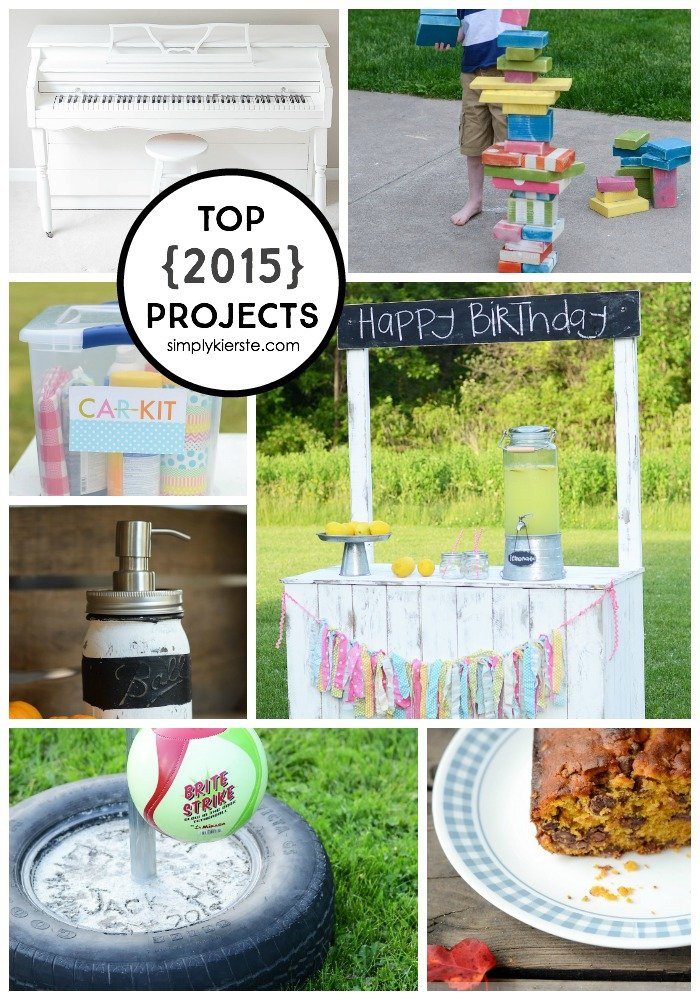 top 2015 projects | simply kierste