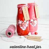 Peek-a-boo Valentine Treat Jar
