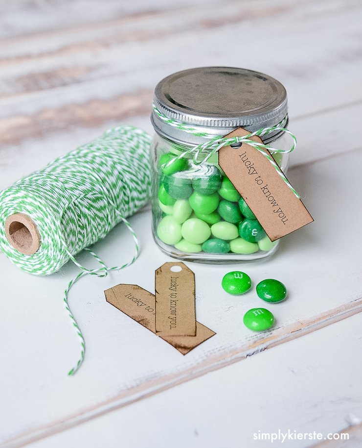 St. Patrick's Day Printable Tag | Lucky to Know You | simplykierste.com