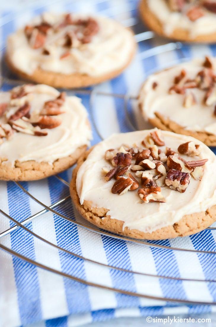 Irresistible Praline Cookies | simplykierste.com