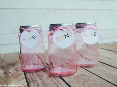 save spend share savings jar for kids | simplykierste.com