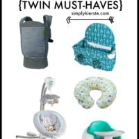 Expecting twins? Check out this list of my twin must-haves!