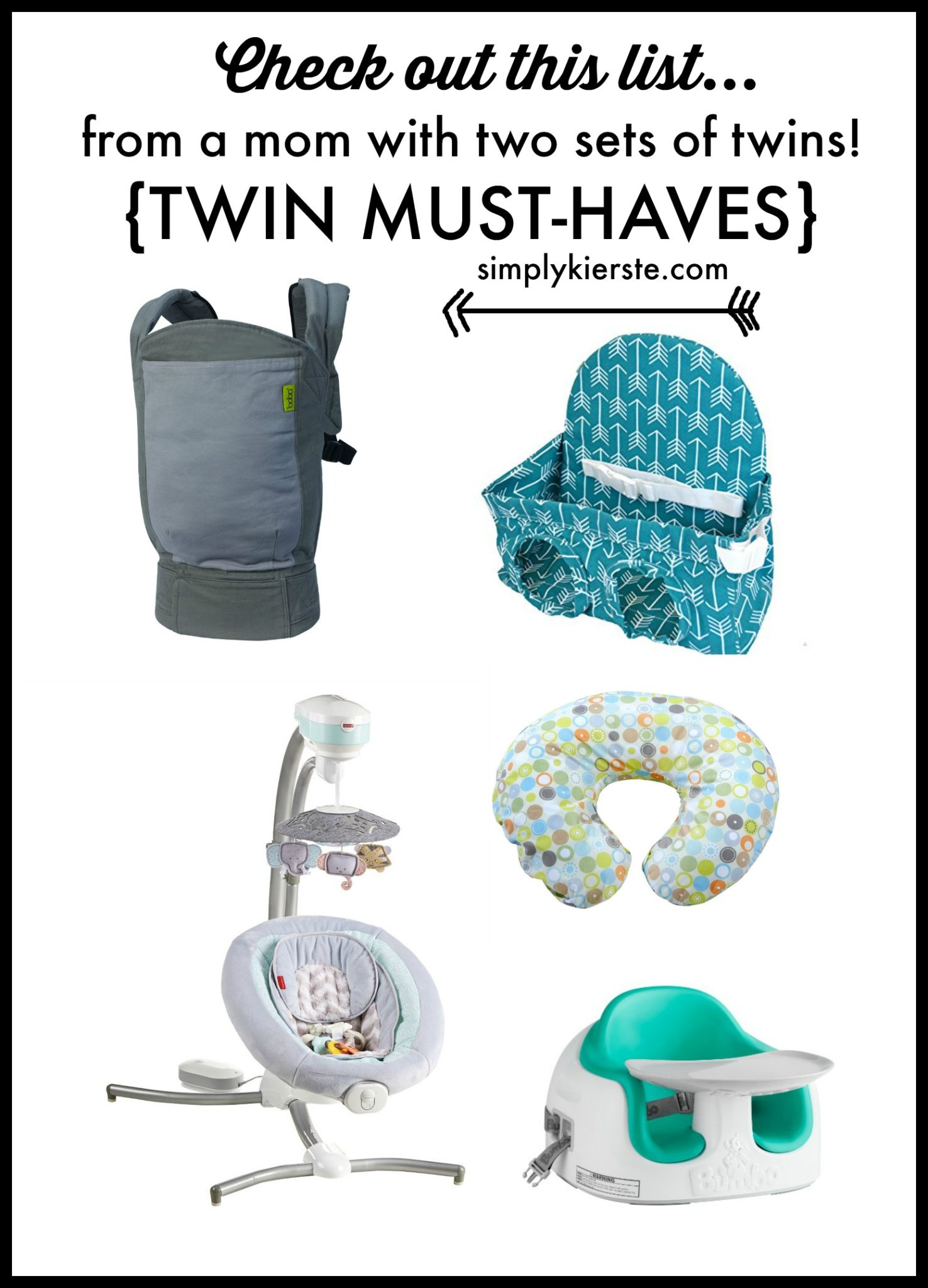 Expecting twins? Check out this list of twin must-haves!