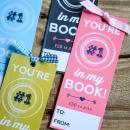 Printable Valentine Bookmark |Classroom Valentines | simplykierste.com