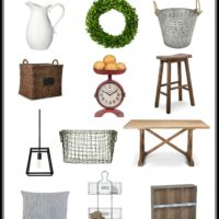 Finding Farmhouse style at Target!