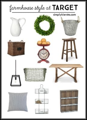Farmhouse Style at Target | simplykierste.com