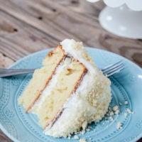 Lemon Cream Cake | simplykierste.com