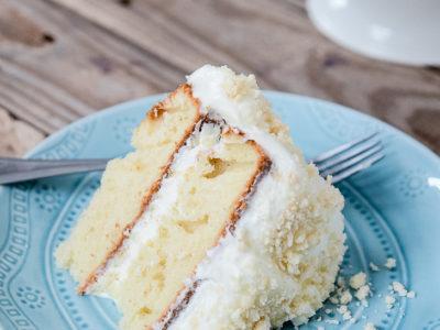 Lemon Cream Cake   simplykierste.com