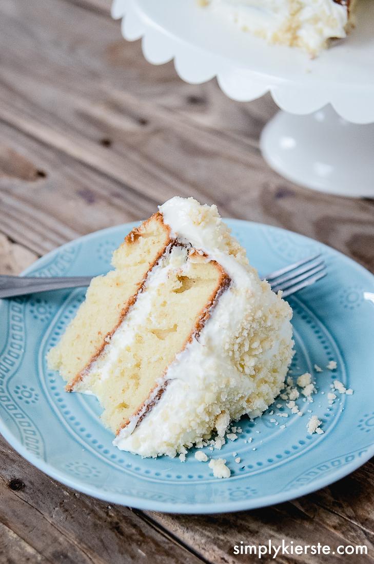 Yummy Lemon Cream Cake