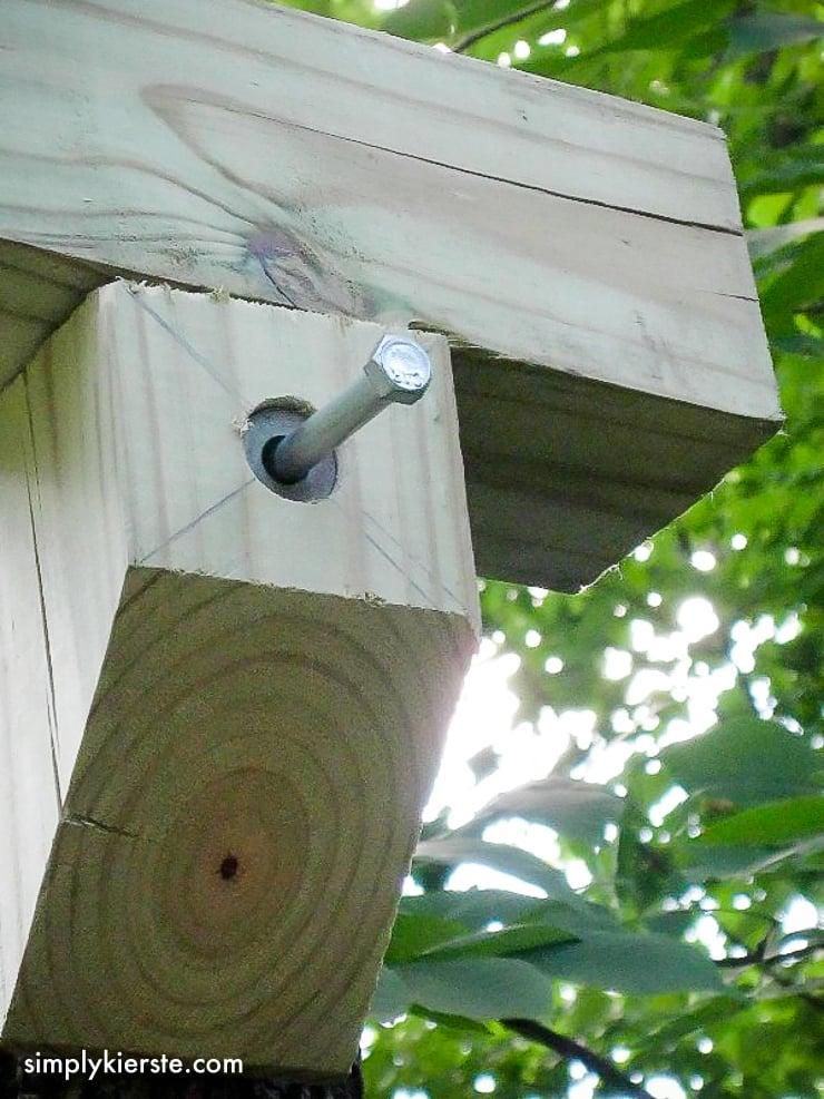 DIY Outdoor Baby Tree Swings   oldsaltfarm.com