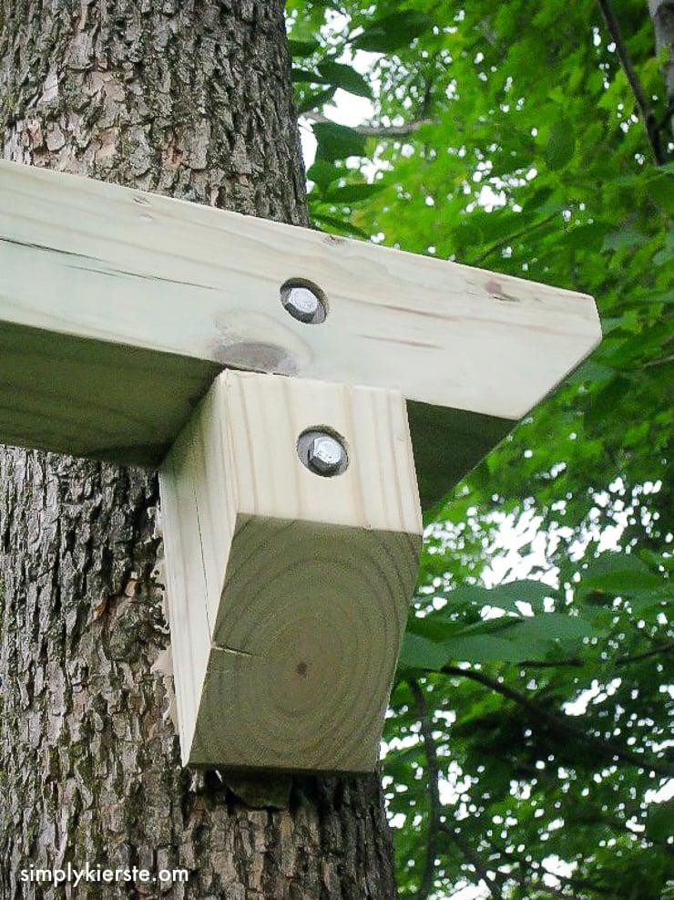 DIY Outdoor Baby Tree Swings | simplykierste.com