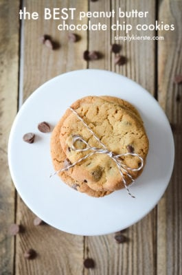 The BEST Peanut Butter Chocolate Chip Cookies | oldsaltfarm.com