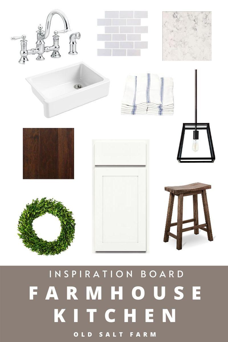 Farmhouse Kitchen Inspiration Board