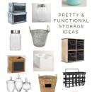 Pretty & Functional Storage Ideas | simplykierste.com