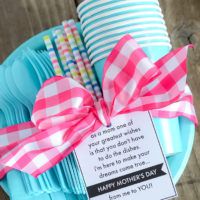 No Dishes for Mom! Mother's Day Gift Idea & Printable