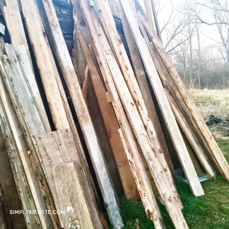 Building Old Salt Farm: Progress Month One | simplykierste.com