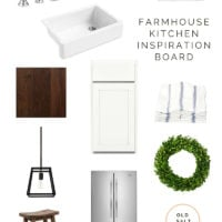 Farmhouse Kitchen Inspiration Board: Building Old Salt Farm