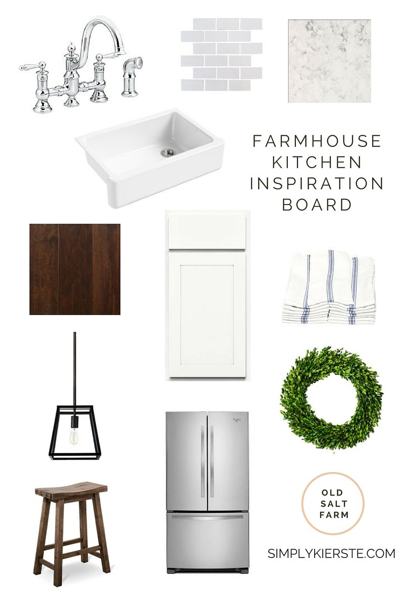 Farmhouse Kitchen Inspiration |Old Salt Farm | simplykierste.com