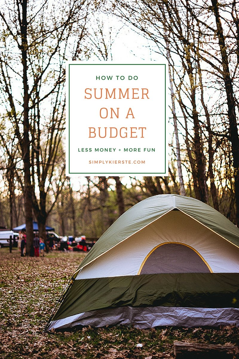 How to Do Summer on a Budget
