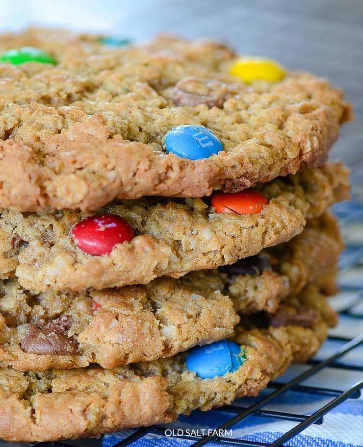 Jumbo Monster Cookies