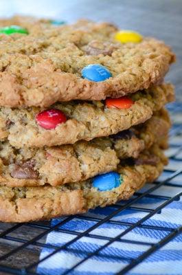 Jumbo Monster Cookies | oldsaltfarm.com