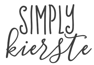 Simply Kierste - DIY, Recipes, Organization, Holidays & more!