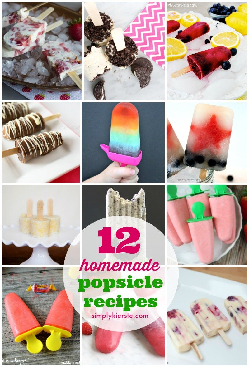 14 Homemade Popsicle Recipes
