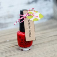Apple Nail Polish: Back-to-School Gift Idea