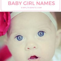 50 Favorite Vintage Baby Girl Names