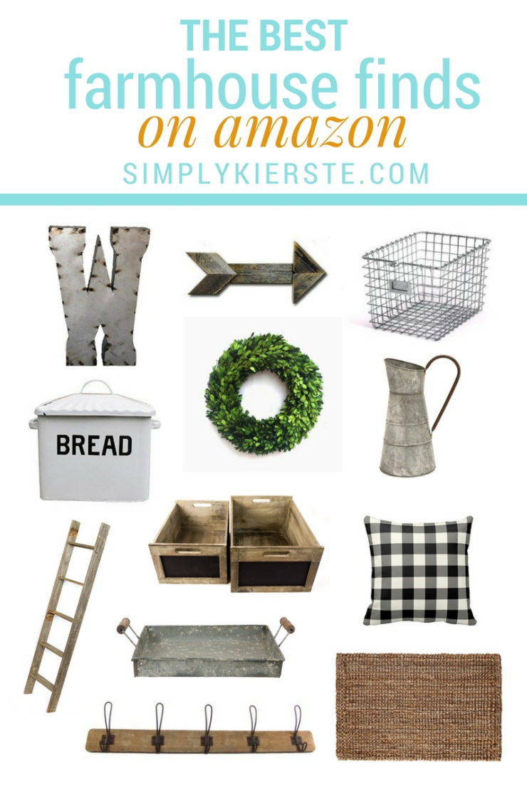 The Best Farmhouse Finds on Amazon | simplykierste.com