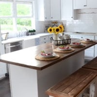 A Sneak Peek into my Farmhouse Kitchen