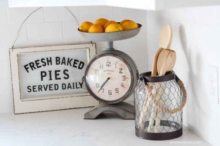 Farmhouse Kitchen Sneak Peek | oldsaltfarm.com