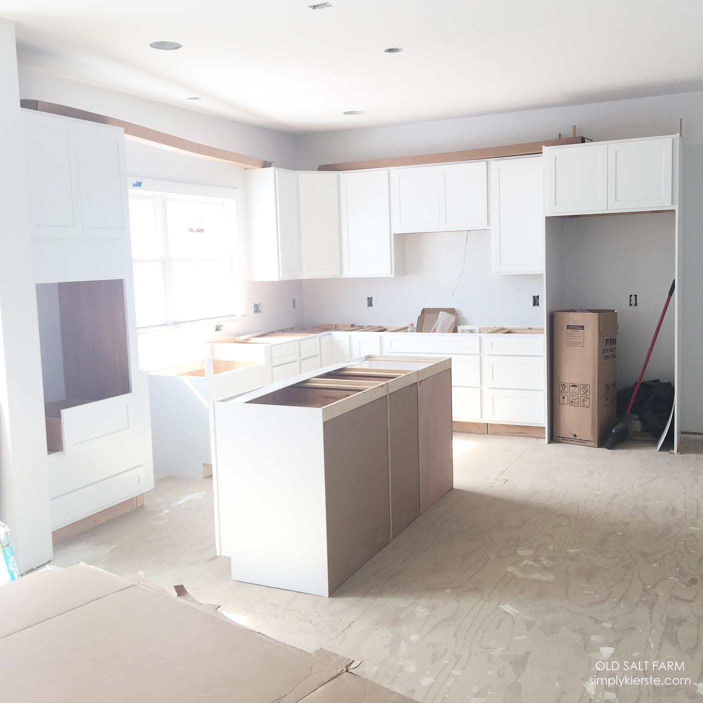 Building Old Salt Farm: Months 4 & 5 Update - Simply Kierste Design Co.