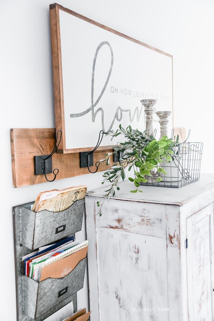 Easy DIY Wall Hooks