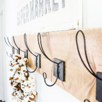 Easy DIY Wall Hooks