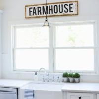 DIY Framed Wood Farmhouse Sign