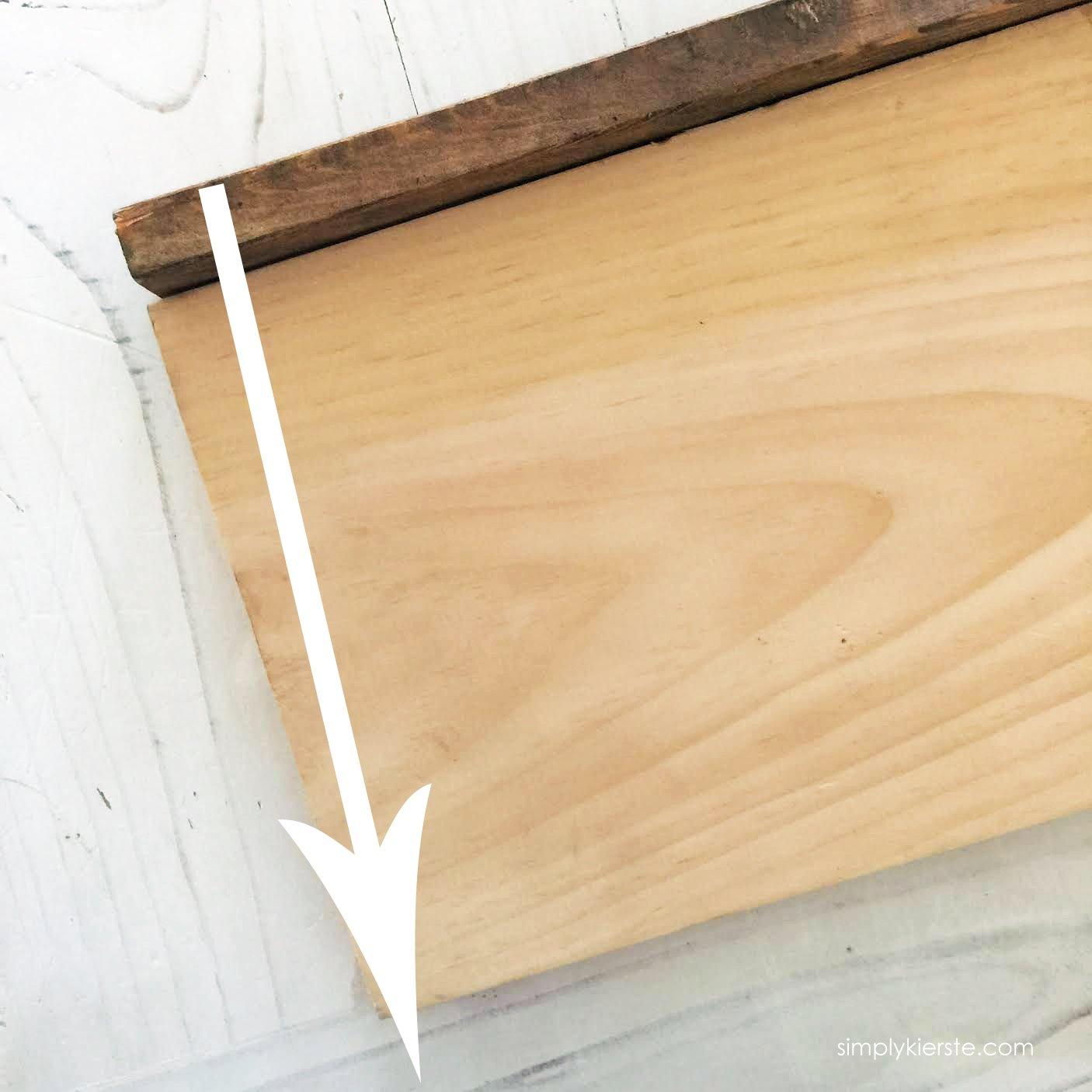 DIY Wood Framed Farmhouse Sign | Simplykierste.com