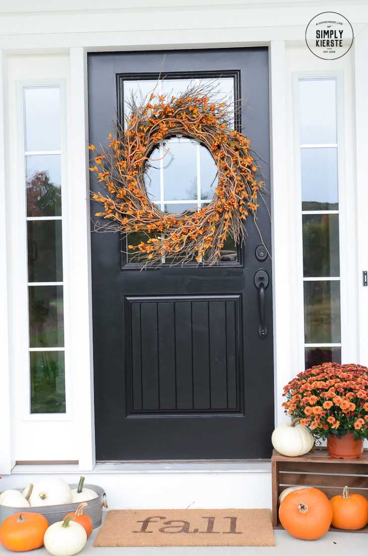 10 Minute Fall Welcome Mat