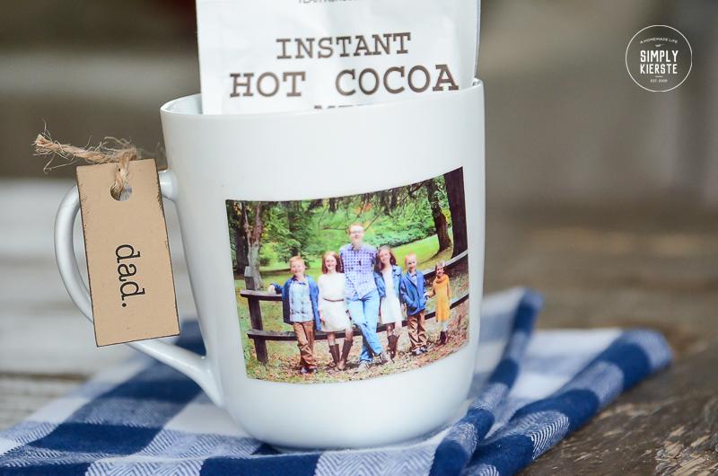 Easy DIY Photo Mug