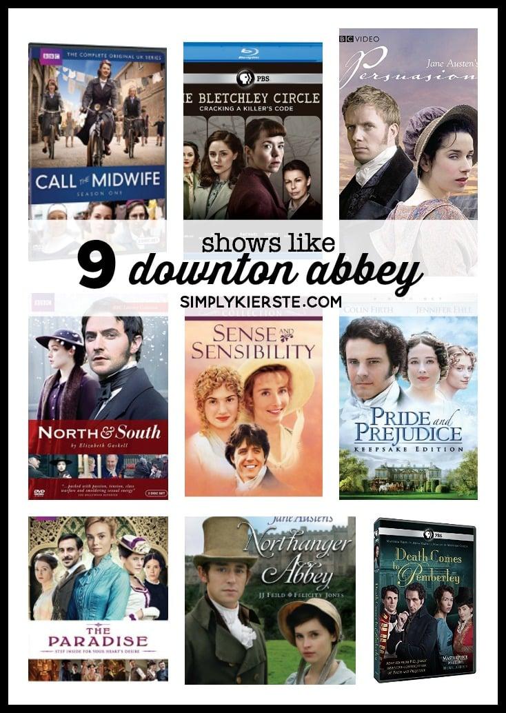 9 shows like Downton Abbey | simply kierste.com