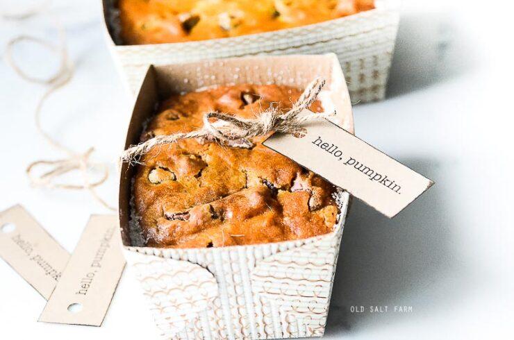 Pumpkin Bread Gift Idea