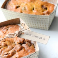 Pumpkin Bread Fall Gift Idea