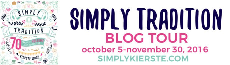 Simply Tradition Blog Tour & Book Giveaway | simplykierste.com