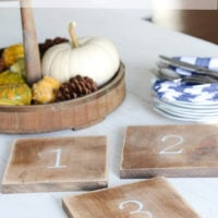 DIY Farmhouse Wooden Trivets | simply kierste.com