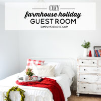 Farmhouse Holiday Guest Room
